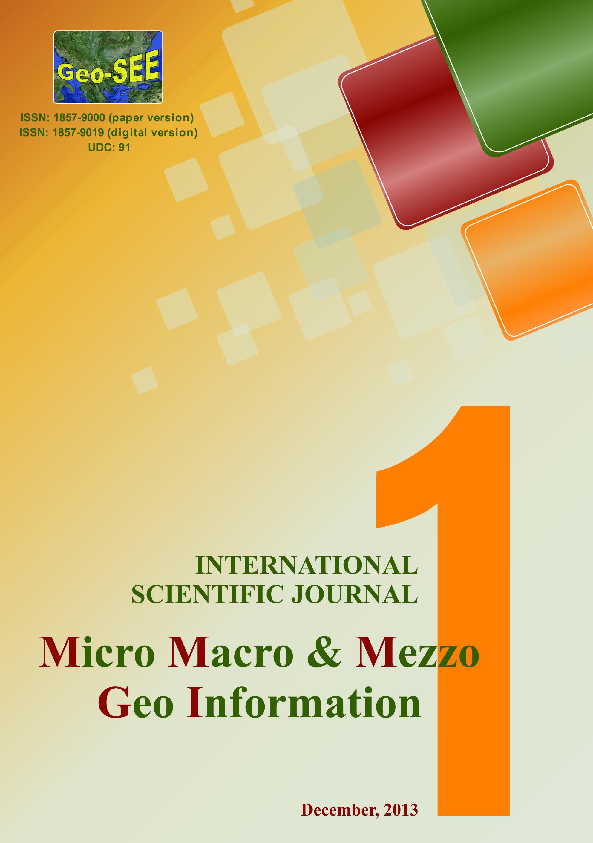 p-korica micro macro  mezzo geo information