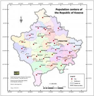 population centers - gm kosova